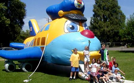 Joey the Jumbo Jet - Front